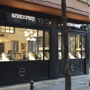 Reforma Fachada Local Aristocrazy