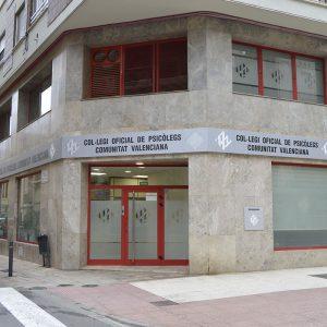 Reforma Entrada Colegio oficial de Psicólogos de la Comunidad Valenciana