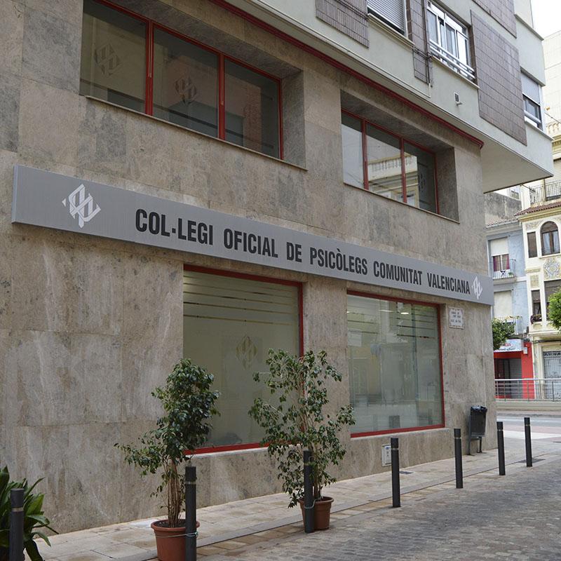Reforma Fachada Colegio oficial de Psicólogos de la Comunidad Valenciana