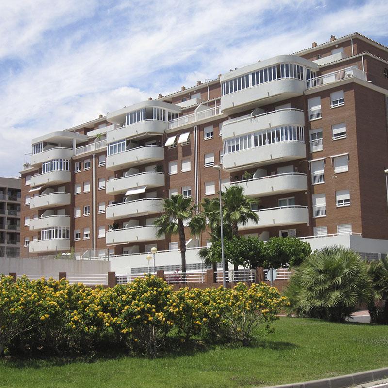 Construcción edificio residencial Azahar Castellón