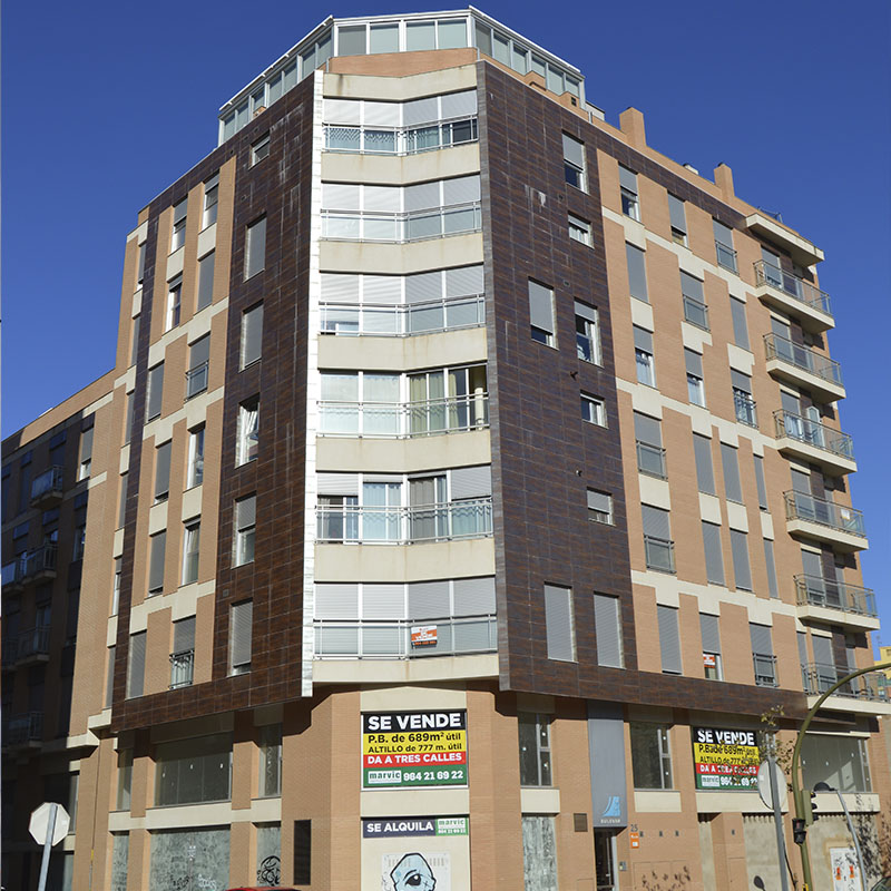 Construcción edificio residencial Bulevar Castellón