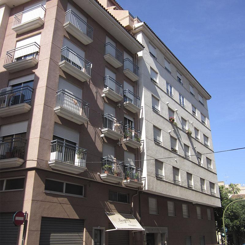 Construcción edificio residencial El Raval Castellón