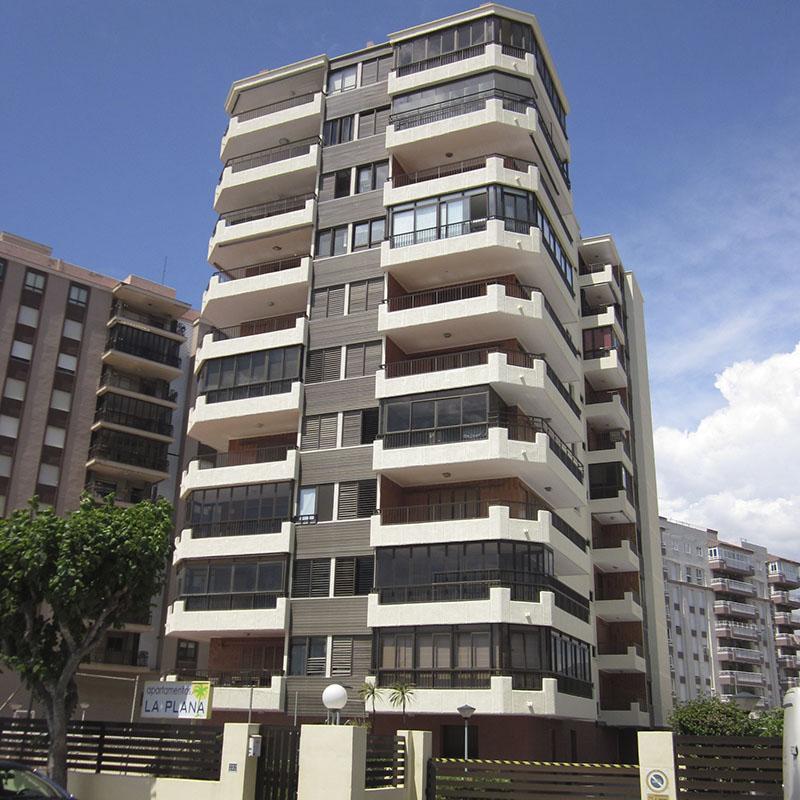 Construcción edificio residencial La Plana Castellón