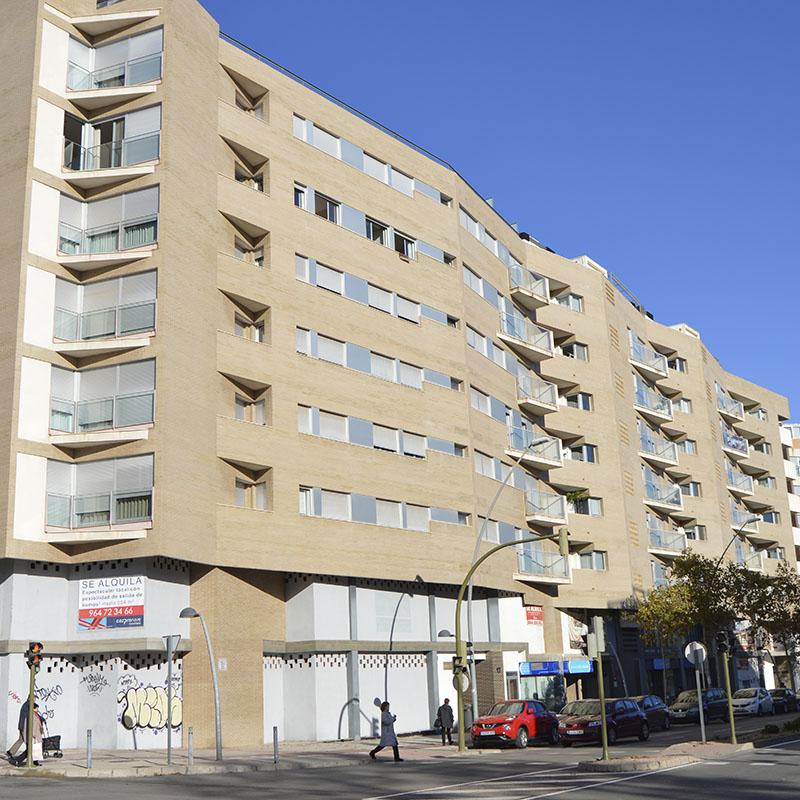 Construcción edificio residencial La Vía Castellón