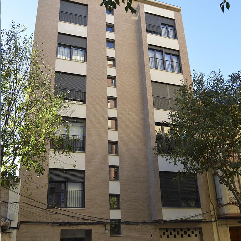 Construcción edificio residencial San Roque Castellón