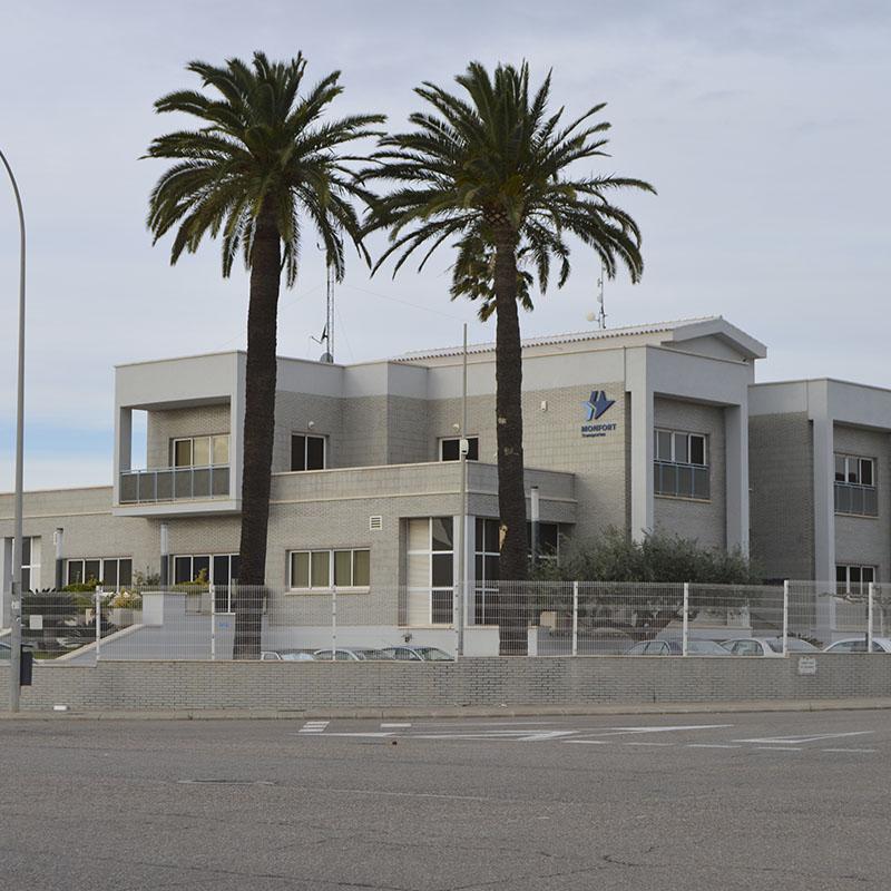 Construcciones para empresas Transportes Monfort Castellón