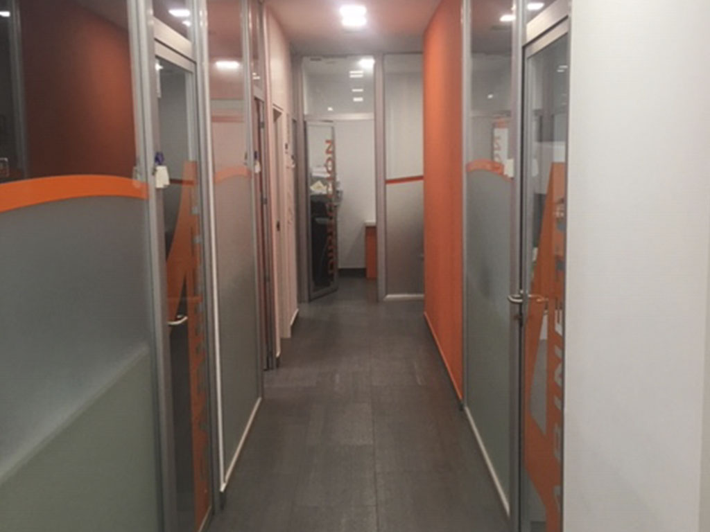 Reforma de pasillos en Castellón
