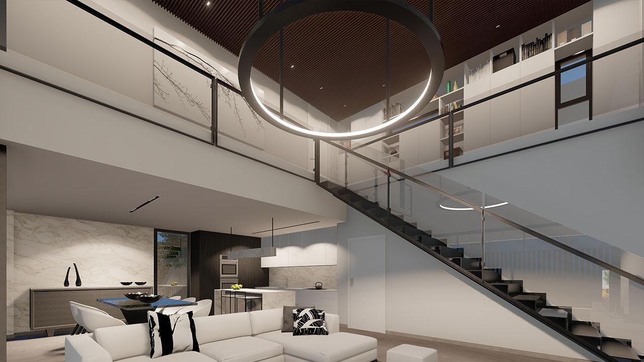 Interior de la vivienda