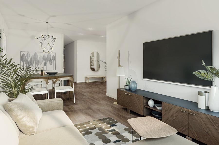 Nuevas viviendas en Castellón