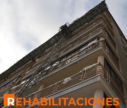 Rehabilitaciones en Castellón